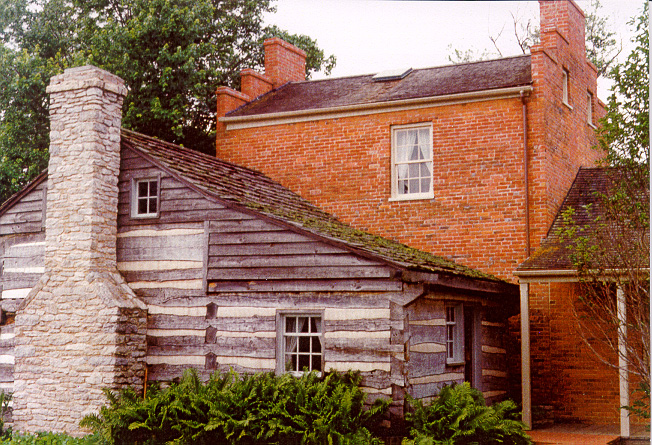 Benjamin Freeman Bird home in Nauvoo