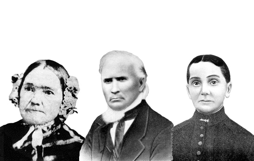 Charles Bird and wives