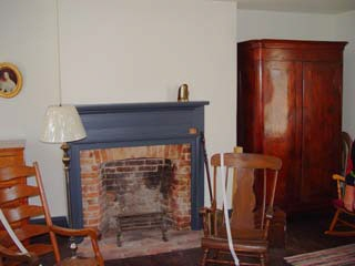 Upstairs fireplace, Bird/Browning home in Nauvoo