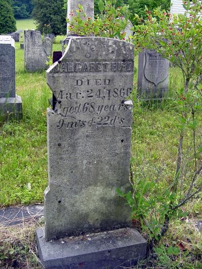 Margaret Crane Bird gravestone