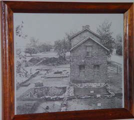 Picture of Bird/Browning home before restoration